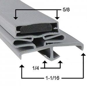 Vollrath Part# 53311-2565 Compatible Door Gasket