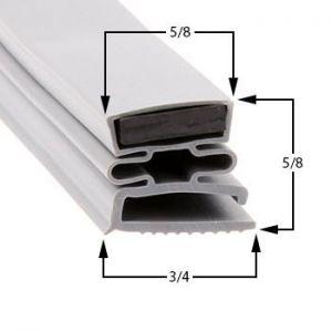 Dunhill Part# 45 Compatible Door Gasket