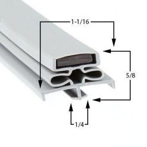 Coldtech Part# 5134200 Compatible Door Gasket