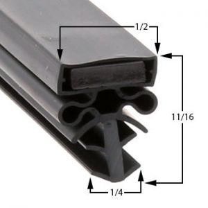 Barr 29 5/8 x 77 3/4 Door Gasket