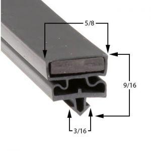 Styleline Part# 5595BCR2 Door Gasket