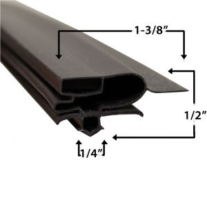 Turbo Air GUC28SF Door Gasket Part# (30223M0200)