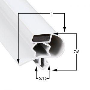 Cold Tech 21 3/4 x 25 1/4 Door Gasket